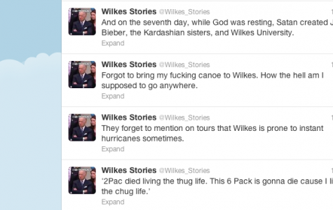 Keeping an eye on unsanctioned Wilkes Twitter accounts
