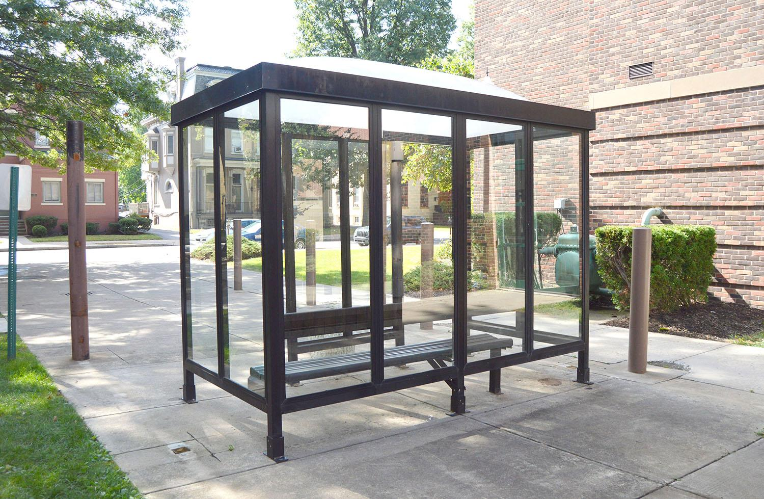 Wilkes' new community enforced smoking policy prohibits smoking within 20 feet of any university building, window or ventilating system. This policy is intended to promote a healthy living environment for students and faculty by eliminating all secondhand smoke that could be inhaled at the entraces of buildings.  The university recently installed a smoking hut, located between Sturdevant Hall and Breiseth Hall,  which provides shelter for smokers during inclement weather with inclosed seating.