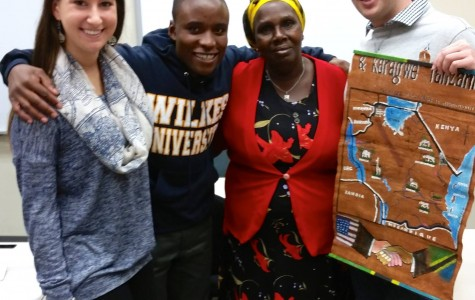 Kihinga George meets Wilkes friends after years of support; Zebra Communications