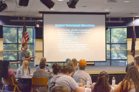 Wilkes Student Government president encourages club participation