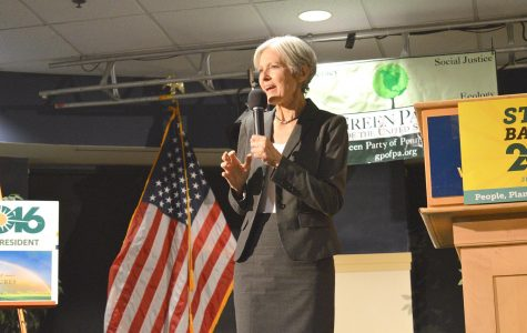 Defending democracy: Green Party candidate Jill Stein visits Wilkes