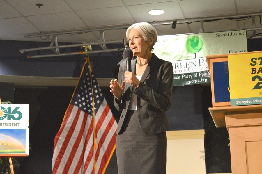Jill Stein, Third-Party Candidate, Escorted Off Hofstra's Campus