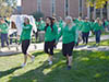 Wilkes University BACCHUS holds alcohol awareness walk