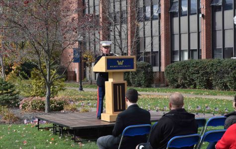 Wilkes University holds Veterans Day ceremony to commemorate those who served