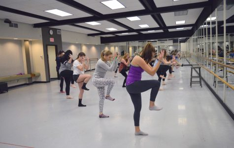 "Dance Program ""breaks a leg"" in preparation for Annual Spring Concert"