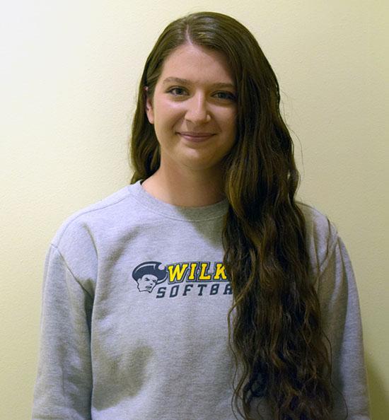 Junior softball player, Christina Gambino