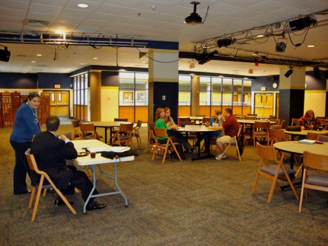 Only six students showed up to the presidential search forum with Steve Leo, the search consultant. The forum aimed at collecting feedback about ideal candidate traits for President Joseph (Tim) Gilmours replacement.