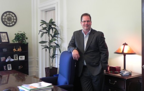 Anatomy of an Administrator: Mike Wood on his latest construction project