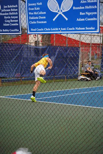 Athlete of the Week: Alex Makos, senior tennis player