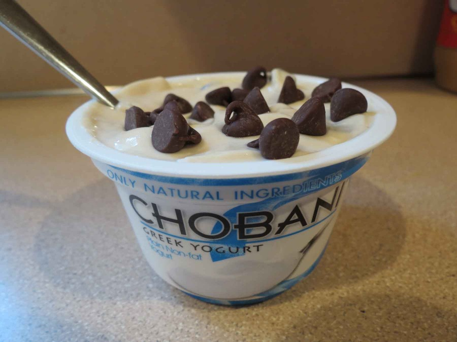 College Cuisine: Cookie Dough Greek Yogurt