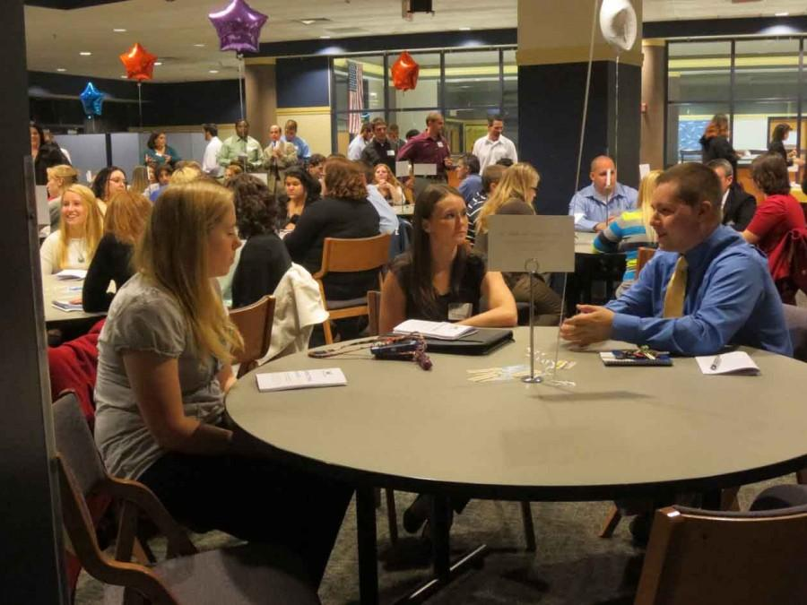 Alumni encourage students to speak up during internships to make an impression