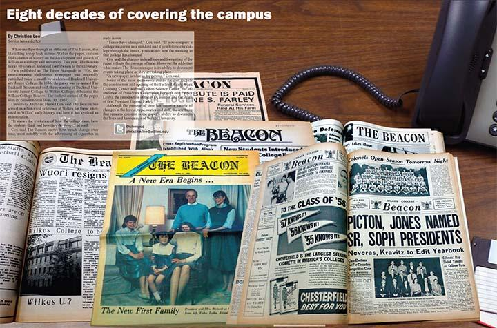 The Beacon is entering its 80th year of covering the the Wilkes campus.