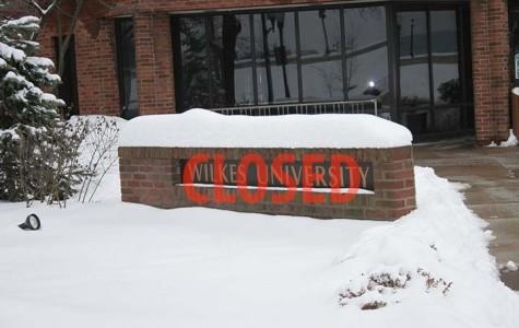 Snows close university, stop Beacon production