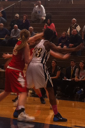 Lady Colonels basketball sweeps King's in season series