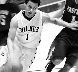 Wilkes point guard Tyler Jackson