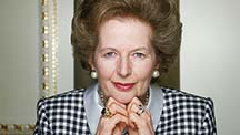 Maragret Thatcher, The Iron Lady