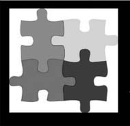 The puzzle piece is known to be the symbol for autism, and can be used to show recognition and acceptance for individuals who are affected by autism.