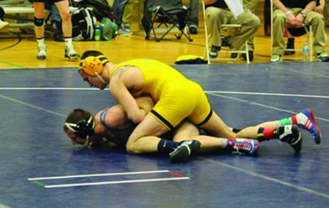 Mark Hartenstine became the second straight All-American for Wilkes finishing fourth at 149-pounds.