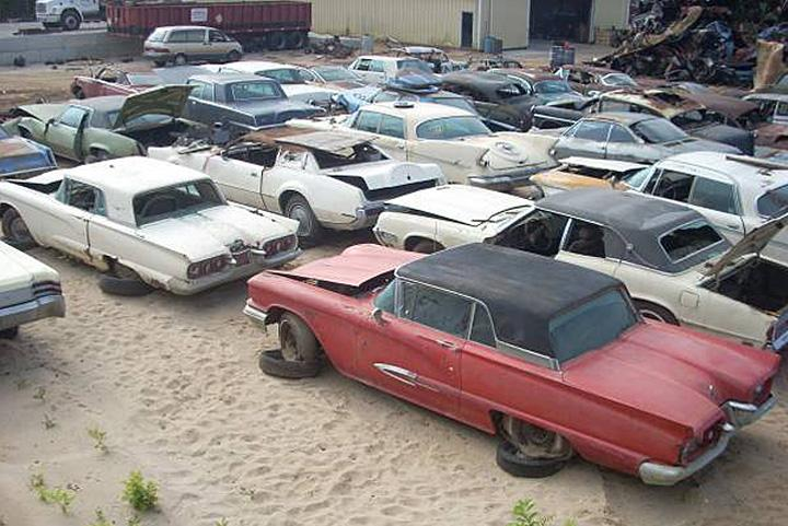 Salvage yards that take junk cars 12