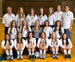 2014 Volleyball team