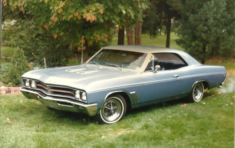 Grandpa's 1967 Buick GS400 sometime in the late 80's or early 90's.