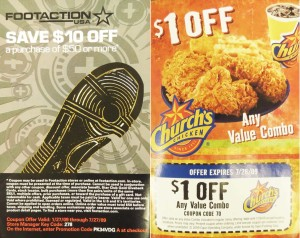 """Racism is still prevalent in video games. These two coupons, placed in the """"Afro Samurai"""" game booklet, show how stereotypes still exist today."""