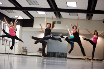 Choreographer to the stars host master classes at Wilkes