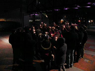 Wilkes holds memorial for student