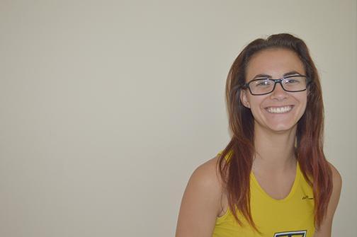Sophomore cross country runner