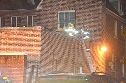 The Nov. 12 fire in Bedford Hall caused damage to the university's ceramics studio.