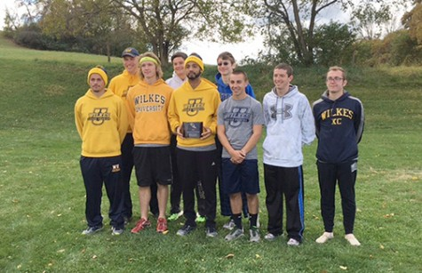 Men's Cross Country finished first at the Alvernia  Invitational earlier this season.