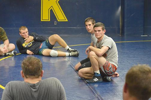 Getting to know...Matt Grossman Sophomore Wrestler