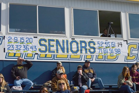 Seniors of Wilkes football were honored at  last home game leaving their mark on both the field and Wilkes Athletics.