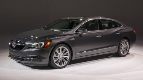 The new 2017 Buick Lacrosse