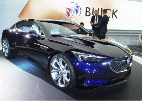 The new high-performance Buick Avista concept