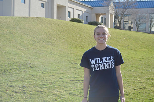 Getting to Know... Grace Graham, Freshman Tennis Player
