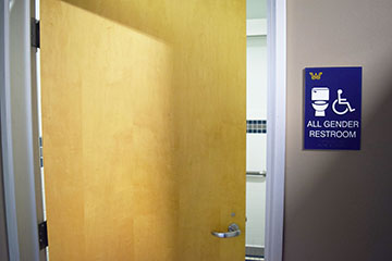 The relabeling of the family restrooms around campus to be all gender is just the start of nondiscrimination amendments.
