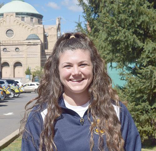 Junior Volleyball Player, Grace Boyle
