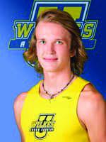 Junior Cross Country runner, Jordan Lindley