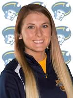 Freshman Volleyball player, Julie Murphy