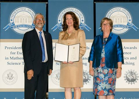 Wilkes alumna receives prestigious Presidential award