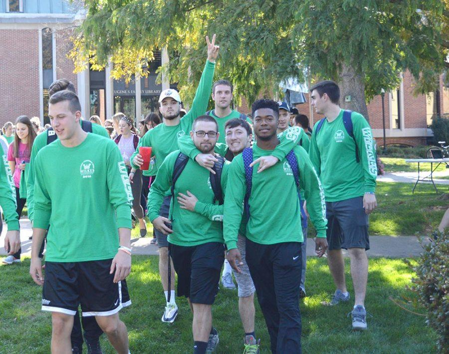 Wilkes University BACCHUS holds alcohol awareness walk