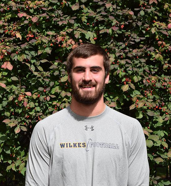 Junior football player, Garrett Armstrong