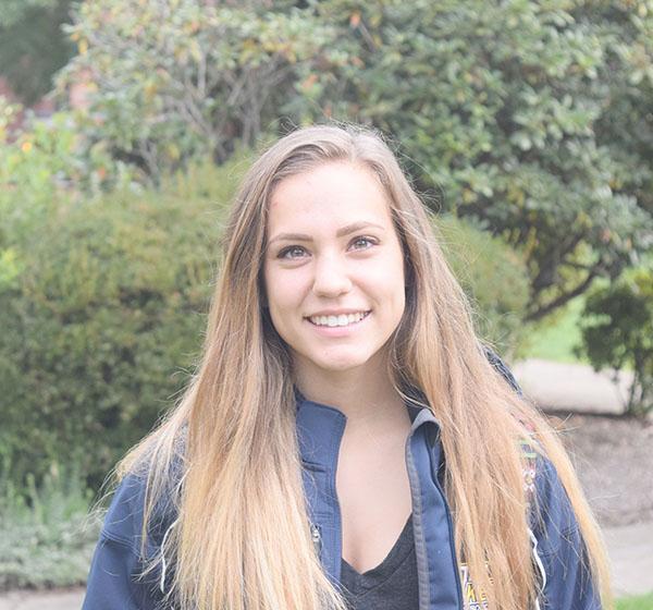 Sophomore soccer player, Nicolette Towlen