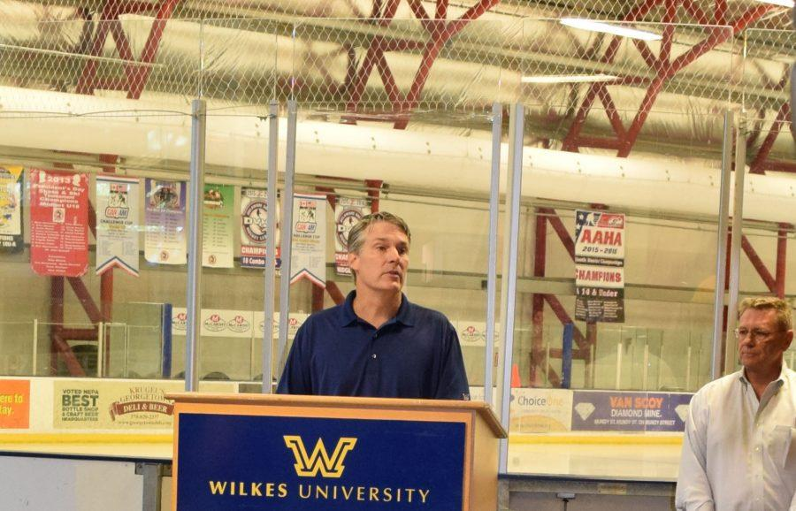On Aug. 29, Wilkes University Patrick Leahy announced Wilkes would offer ice hockey in 2017-18.