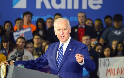 "Wilkes-Barre audience cheers for ""Uncle Joe"": Joe Biden visits Wilkes University on Clinton campaign stop"