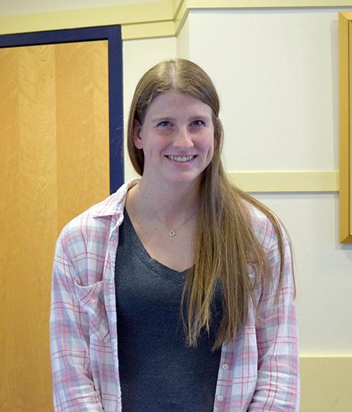 Sophomore soccer player, Alyssa Shaver