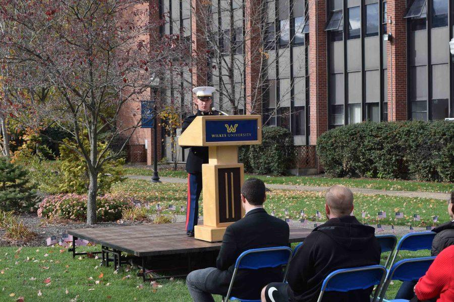 Captain Jeff Homza shares his thoughts on Veterans Day.