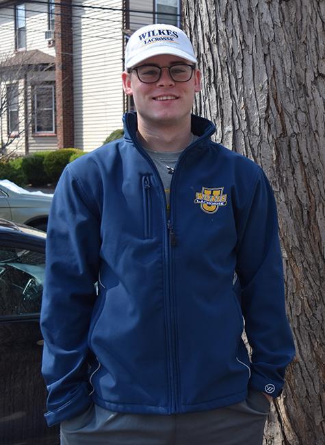 Junior Lacrosse player, Glenn Weist