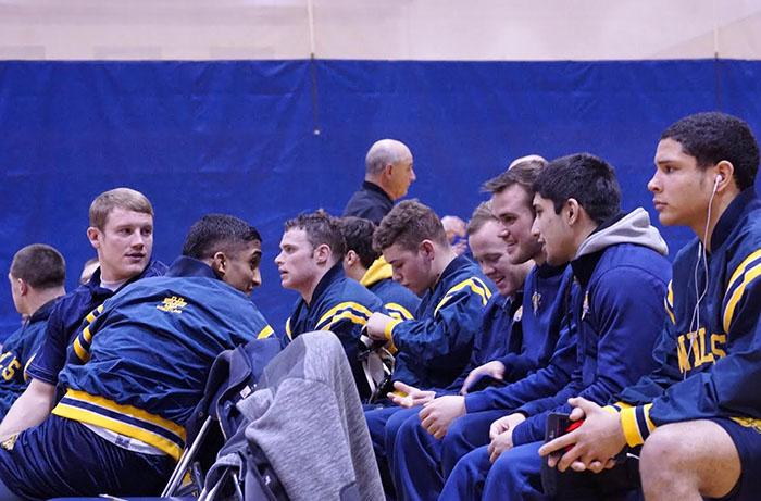 Wilkes Wrestling entered the Regional Tournament with a 20-5 record.
